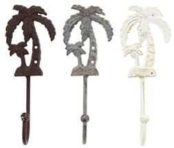 assorted wall hooks cast iron