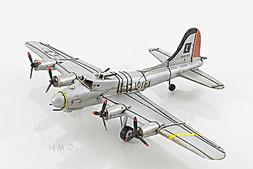"""B-17 Flying Fortress Bomber Metal Desk Model 12"""" WWII Airpla"""