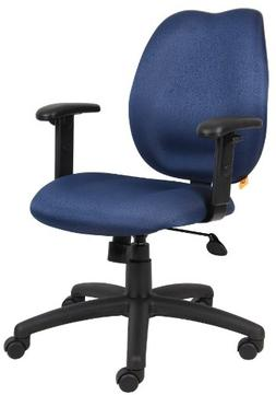 Boss Office Products B1014-BE Any Task Mid-Back Task Chair w