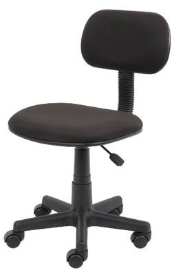 Boss Office Products B205-BK Fabric Steno Chair in Black
