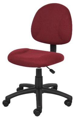 Boss Office Products B315-BY Perfect Posture Delux Fabric Ta
