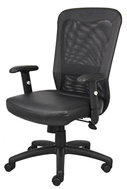Boss Office Products B580 Boss Web Chair in Black