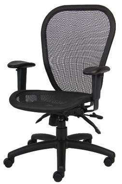 Boss Office Products B6018 Mulit-Function Mesh Task Chair in