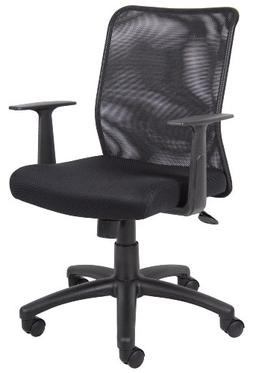 Boss Office Products B6106 Budget Mesh Task Chair with Arms