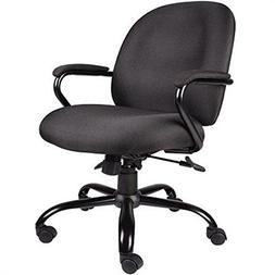 Boss Office Products B670-BK Heavy Duty Task Chair in Black