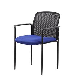 Boss Office Products B6909-BE Stackable Mesh Guest Chair in