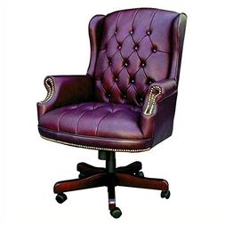 Boss Office Products B800-BK Wingback Traditional Chair in B