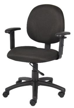 Boss Office Products B9091-BK Dimond Task Chair with Adjusta