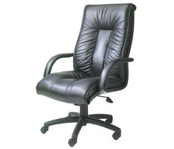 BOSS Office Products B9301 Italian Leather High Back Executi