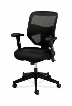 basyx by HON - VL531 High- Back Work Chair, Mesh Back, Padde