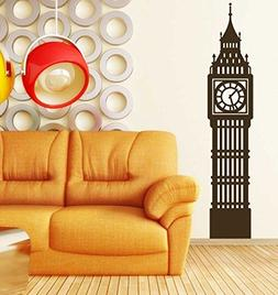 Enid545Anne Big Ben Wall Decal - Historic London Clock Tower