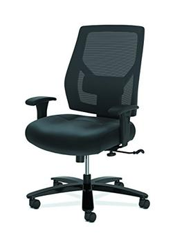 HON Crio High-Back Big and Tall Chair - Leather Mesh Back Co