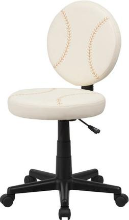 Flash Furniture Baseball Swivel Task Chair