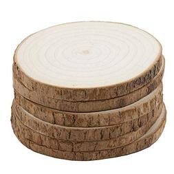 camphor wood drink coasters