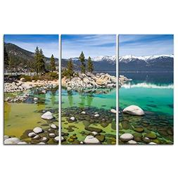 Canvas Print Wall Art Painting For Home Decor Sandy Lake Tah