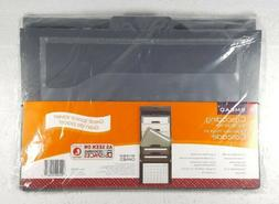 Smead Cascading Wall Organizer, 6 Pockets, Letter Size, Gray