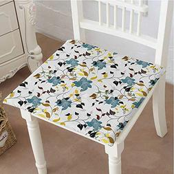 Outdoor Chair Cushion Flowers Colorful Leaves Poison Ivy Con