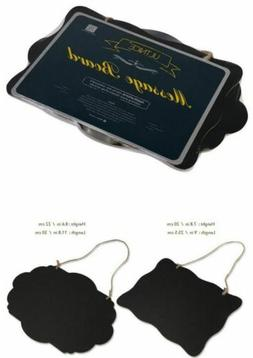 Ultnice Chalkboard Sign Double-Sided Message Board With Hang
