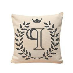 Clearance ! Andsome Letters Pattern Cushion Cover Throw Pill