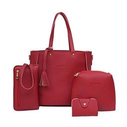 4a3b985e1840 Clearance Sale! Women Four Set Handbag S...