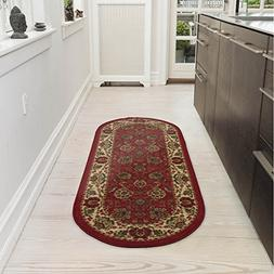 Ottomanson Ottohome Collection Traditional Persian Oriental