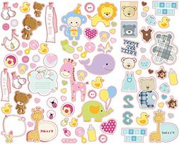 colorful decorative baby stickers