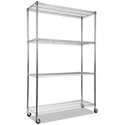 complete wire shelving unit