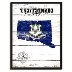 Connecticut Flag State7034White Make A Great Decoration Cust