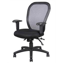 Contoured Mid-Back Mesh Task Chair Seat Slider: Included