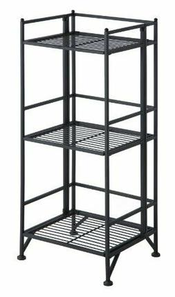 Convenience Concepts Designs2Go Metal Folding 3 Shelf Bookca