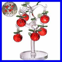 Crystal Apple Tree Decorative Artificial Tree Crystal Orname