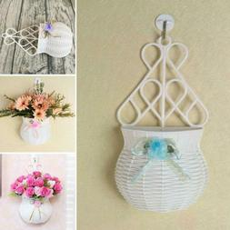 Cute Wall Fence Hanging Flower Plant Pot Planter Basket Hold