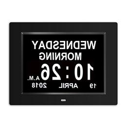 SSYA  Day Clock - 12 Alarm Options, Level 5 Auto Dimmable Di