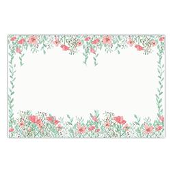 DB Party Studio Holiday Paper Place Mats 25 Pack Elegant Chr