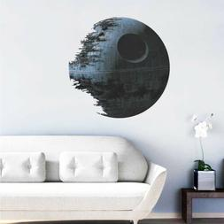Death Star Wars Removable Wall Stickers Art Vinyl Decal Kids