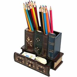 decorative library books wooden office