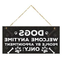 Decorative Sign With Hanging Rope For Office Bedroom Bathroo