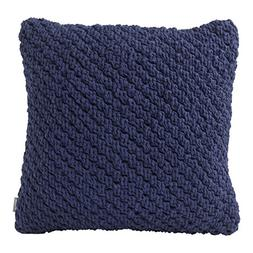 Hallmark Home Decorative Throw Pillow with Insert  Navy Knot