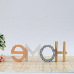 Decorative Word Sign Simple Letter Decoration for Bedroom Of