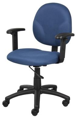 Boss Diamond Task Chair W/ Adjustable Arms