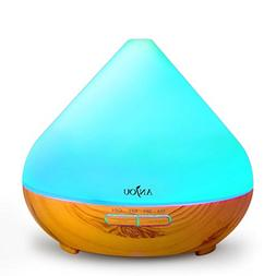Anjou Essential Oil Diffuser 300ml, Ultrasonic Aroma Cool Mi
