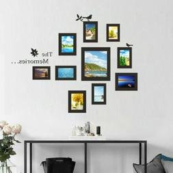 DIY Family Memories Photo Frame Wall Stickers Vinyl Home Off