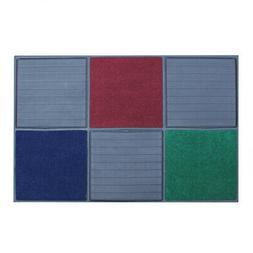 Door Mat Multiple Color Rubber Utility Indoor Outdoor Home O