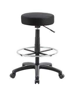 Boss Office Products The DOT Drafting Stool in Black