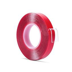 """Double Sided Tape Heavy Duty - 1/2"""" 10' Transparent Strong A"""
