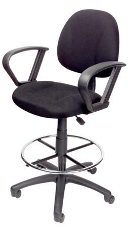 Boss Office Products Drafting Stool With Footring and Loop A