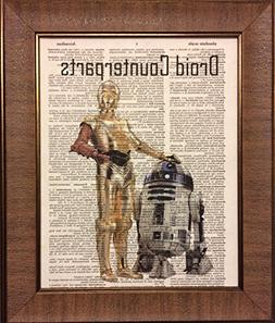 Ready Prints Droid Counterparts Star Wars Dictionary Book Pa
