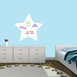 Dry Erase Star Wall Decal - Organizing, Lists, Kitchen, Offi