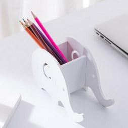 Elephant Cell Phone Stand Desk Pen Pencil Holder for Office