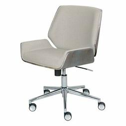 Elle Decor Ophelia Bentwood Task Chair in Ivory
